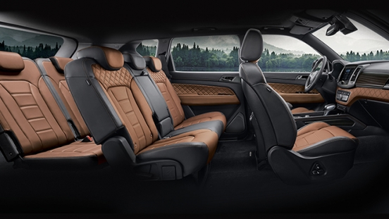 SsangYong Rexton interior Seating Layout Philippines