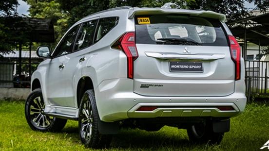 2020 Mitsubishi Montero Sport Back Exterior