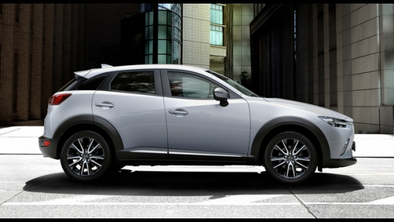2018 Mazda CX-3 2.0L FWD SPORT side