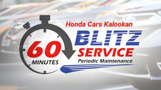 Honda Blitz Kalookan 60 Minutes Periodic Maintenance Service