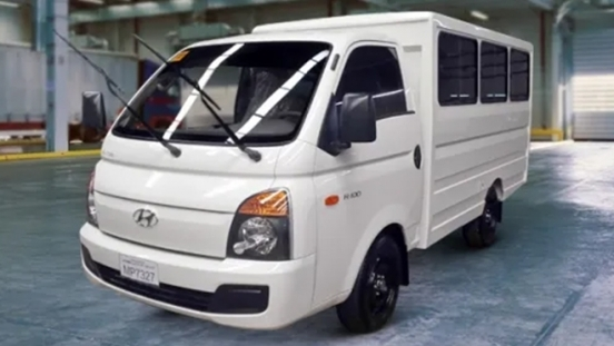 Hyundai H-100 Shuttle Body Dual Aircon Philippines