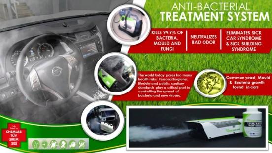 Nissan BactaKleen Treatment
