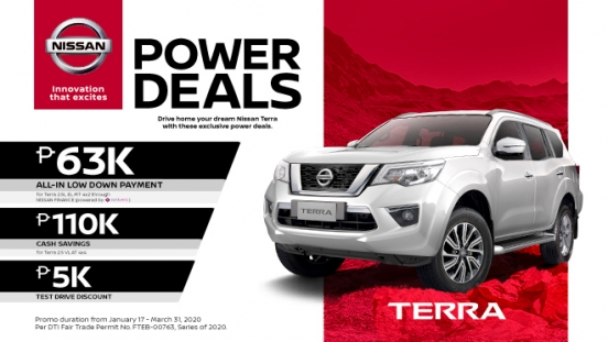 Nissan Terra exterior front Philippines