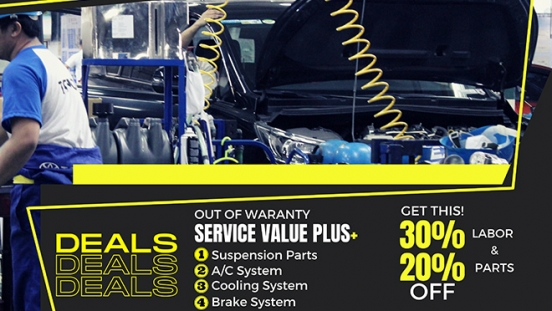 Toyota Service Value Plus