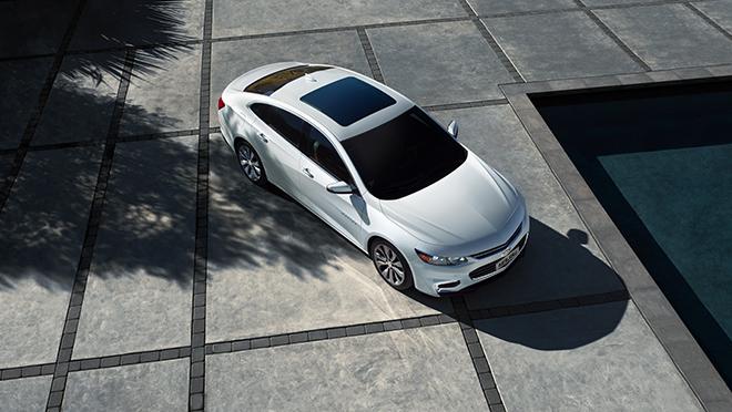 2019 Chevrolet Malibu exterior top Philippines