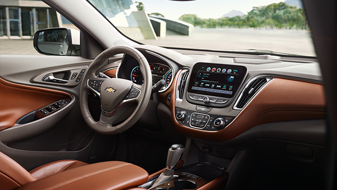 2019 Chevrolet Malibu interior dashboard Philippines