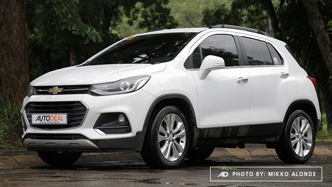 2019 Chverolet Trax exterior Philippines