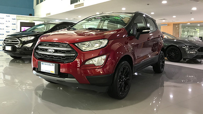 2019 Ford EcoSport Black Edition exterior