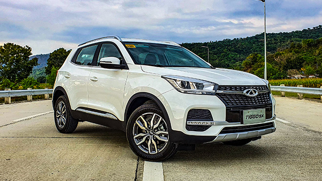 2020 Chery Tiggo 5X white exterior Philippines