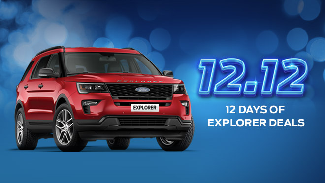 2020 Ford Explorer exterior Philippines promo