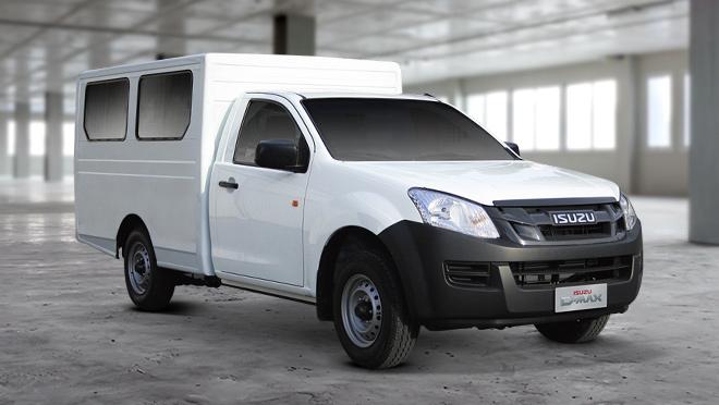 2020 Isuzu D-Max Passenger Cargo Van