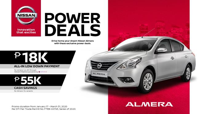 2020 Nissan Almera exterior front