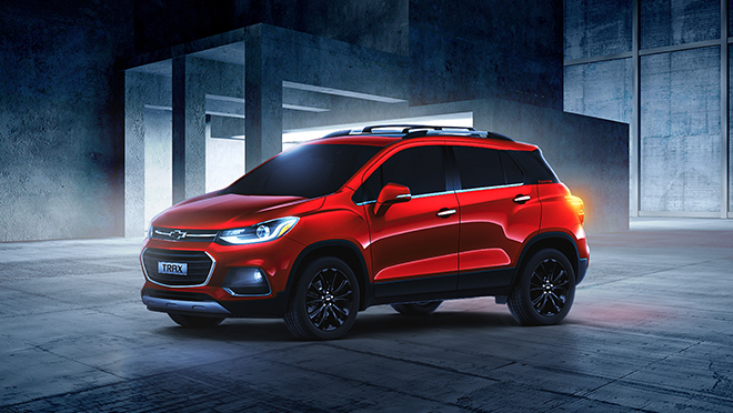 2021 Chevrolet Trax Premier exterior red Philippines