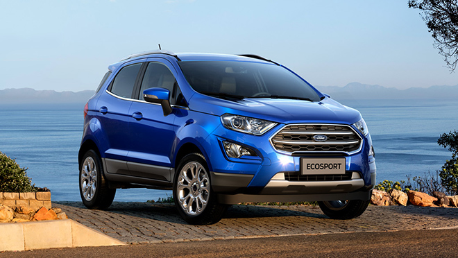 2021 Ford EcoSport  exterior blue Philippines