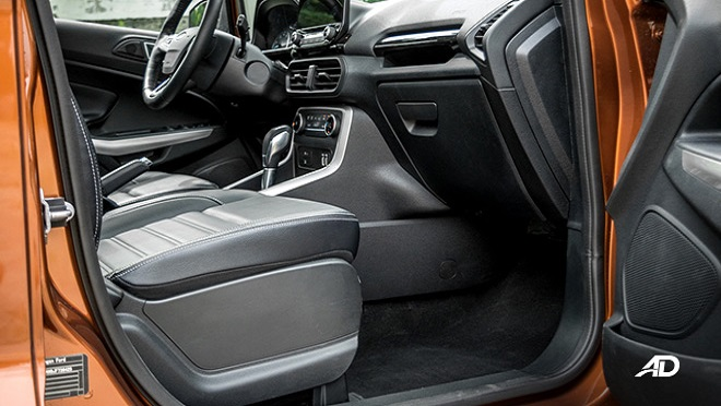 2021 Ford EcoSport interior front cabin Philippines
