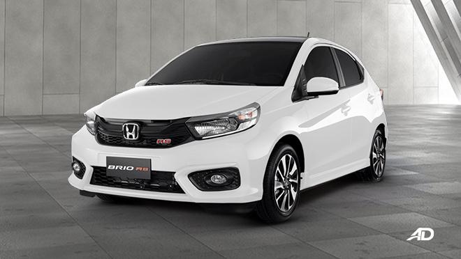 2021 Honda Brio exterior white Philippines