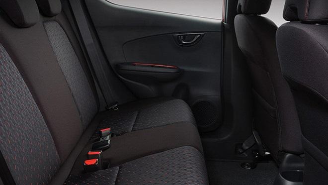 2021 Honda Brio interior rear seats Philippines