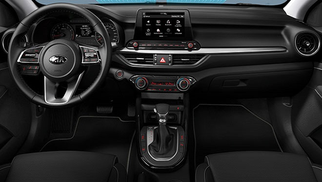 2021 Kia Forte interior front dashboard Philippines