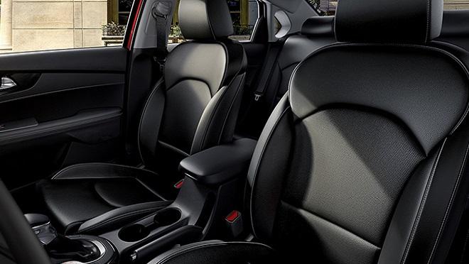 2021 Kia Forte interior leather seats Philippines