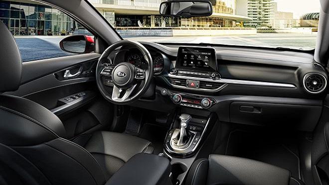 2021 Kia Forte interior side dashboard Philippines
