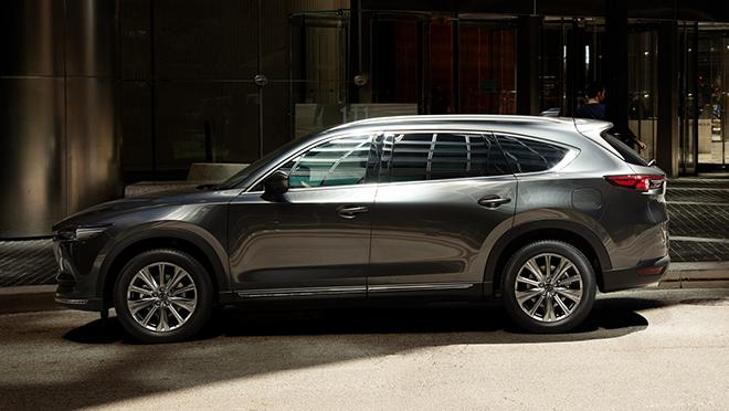 2021 Mazda CX-8 exterior side Philippines