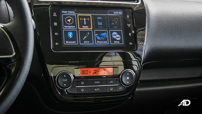2021 Mitsubishi Mirage G4 interior entertainment system Philippines