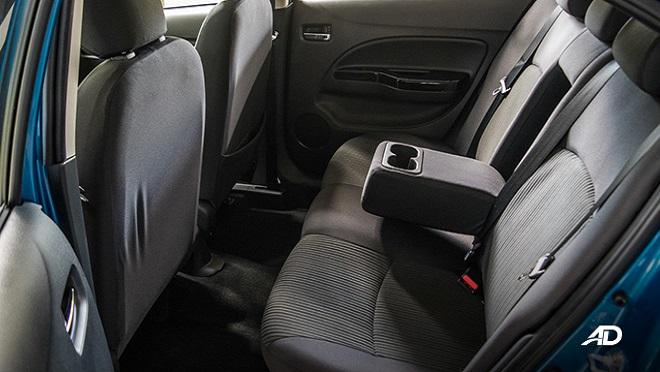 2021 Mitsubishi Mirage G4 interior rear seats Philippines