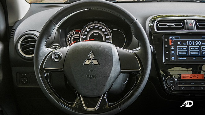 2021 Mitsubishi Mirage G4 interior steering wheel Philippines