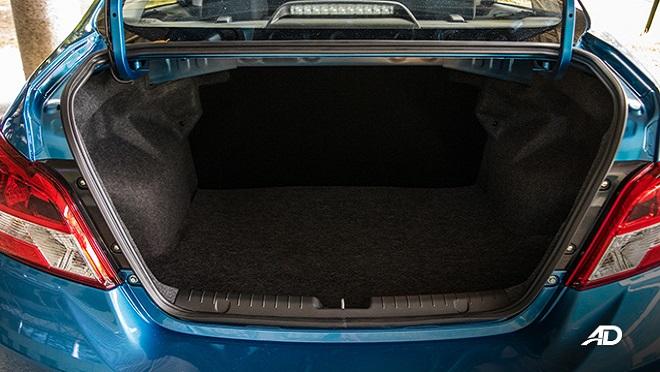 2021 Mitsubishi Mirage G4 interior trunk Philippines