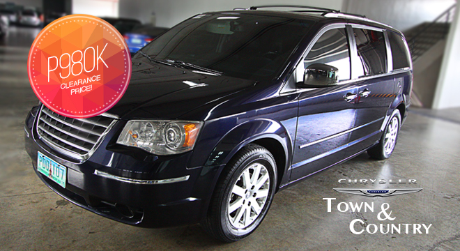 p980 000 clearance price for 2010 chrysler town and country 3 8l v6 swivel with 3 years warranty. Black Bedroom Furniture Sets. Home Design Ideas