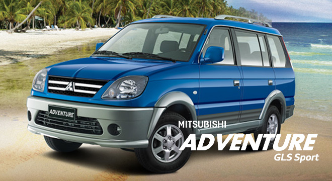 Mitsubishi Adventure GLS Sport P AllIn Downpayment Promo - Mitsubishi promotions