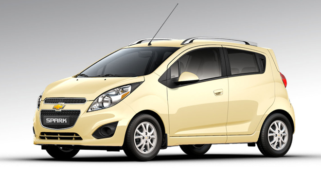 Chevrolet Spark LT MT with a P68000 allin downpayment promo from