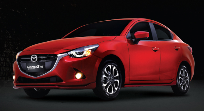 mazda 2 rs v+ with a p79,000 all-in downpayment promo | autodeal