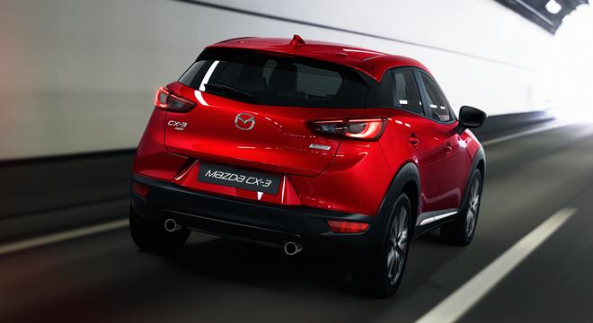 2018 Mazda CX-3 2.0L FWD SPORT rear