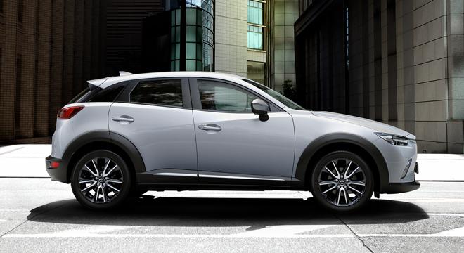 2018 Mazda CX-3 2.0L FWD SPORT side