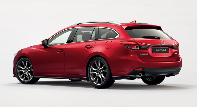 Mazda6 SkyActiv-G Sports Wagon Rear