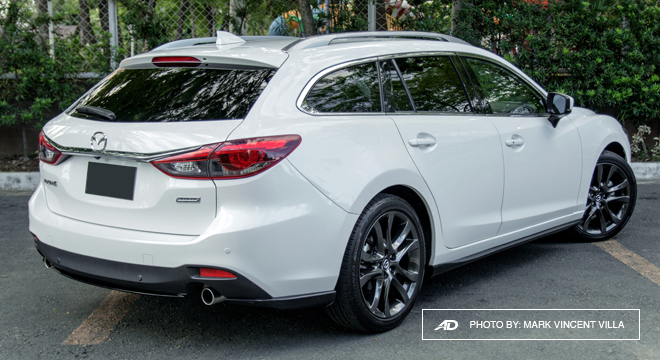 Mazda6 SkyActiv-G Sports Wagon Rear