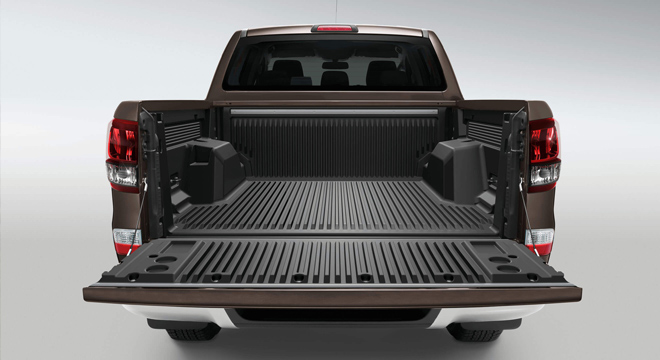 2018 Mazda BT-50 2.2L 4X2 MT truck bed