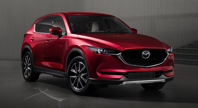 2018 Mazda CX-5 AWD Sport front