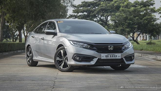 2017 Honda Civic front Philippines