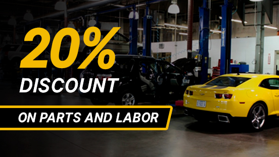 Chevrolet PMS Discount