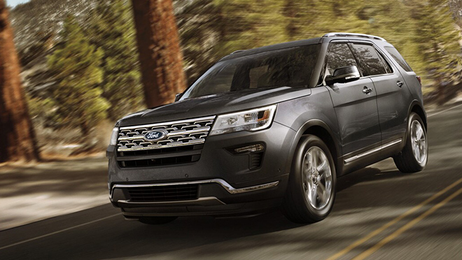 Ford Explorer exterior front Philippines