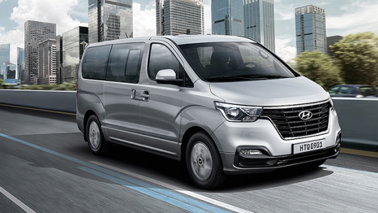 Hyundai Grand Starex Facelifted Gold Philippines