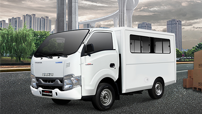 Isuzu Traviz L Cab and Chassis commercial vehicle Philippines