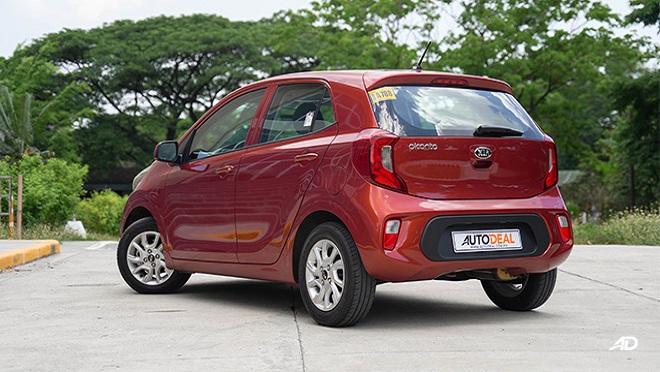 Kia Picanto exterior quarter rear Philippines