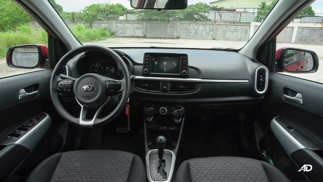Kia Picanto interior dashboard Philippines