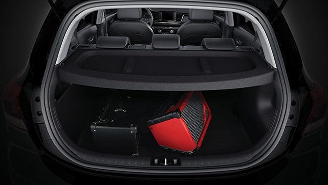 Kia Rio Hatchback interior cargo space Philippines