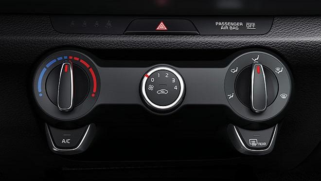 Kia Rio Hatchback interior climate controls Philippines