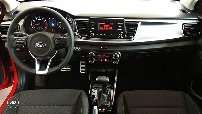 Kia Rio Hatchback interior dashboard Philippines