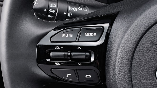 Kia Soluto interior steering wheel controls Philippines